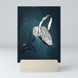 the universe wall Mini Art Print
