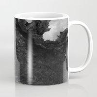 godzilla Mugs featuring Godzilla by ffejeromdiks
