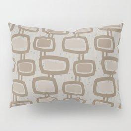 Dangling Rectangles in Brown Pillow Sham