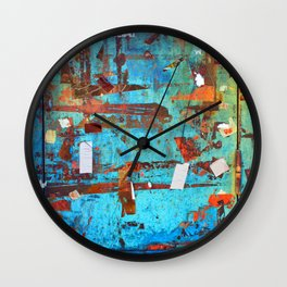 Signs of Past Events Wall Clock