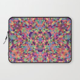 Colorful Triangle Mandala Laptop Sleeve
