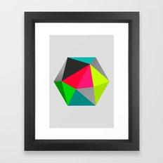 Hex series 1.3 Framed Art Print