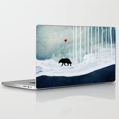 WOLF - A Love Always Carried  Laptop & iPad Skin