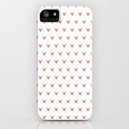 Geometric Foxes iPhone Case