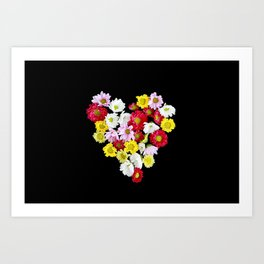 Bunch of Love  Art Print