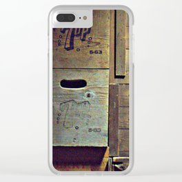 old brands Clear iPhone Case