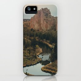 Smith Rock iPhone Case