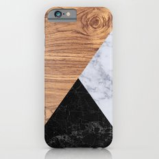 Marble Granite Wood Slim Case iPhone 6s