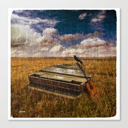 A Discarded Sound Canvas Print