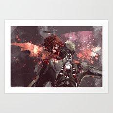 Shepard + Husk Art Print