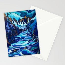 Cheakamus Flow, Whistler Stationery Cards