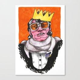 King Choker Canvas Print