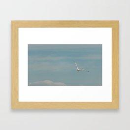 Cruising the Lake Breeze Framed Art Print