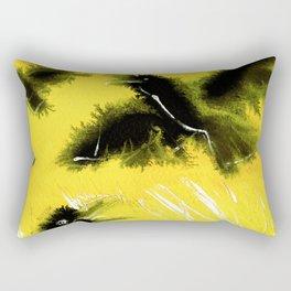 Totem Raven on the air Rectangular Pillow