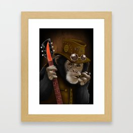Rockers of the apes Framed Art Print
