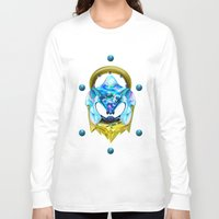 sonic Long Sleeve T-shirts featuring Sonic  by Naje Anthony Hart
