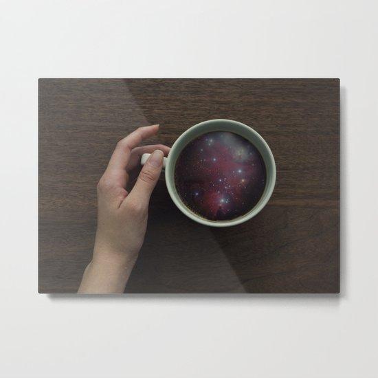 Morning Microcosm Metal Print