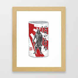 Shogun Beer Framed Art Print