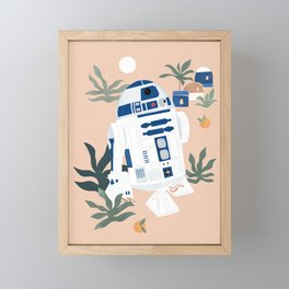 """Keep Calm and Droid On"" by Maggie Stephenson Framed Mini Art Print"