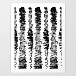 Phonetic Pattern #798 Art Print