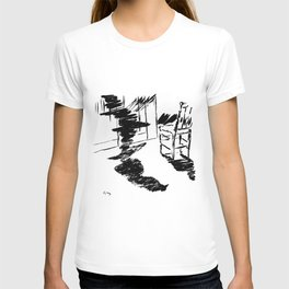 Edouard Manet - The raven by Poe 4 T-shirt