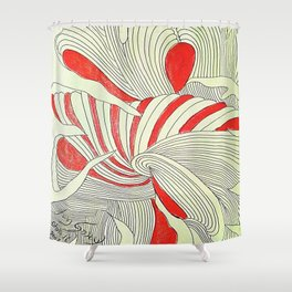 OTOÑO 16 Shower Curtain