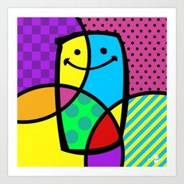 POP ART. Art Print
