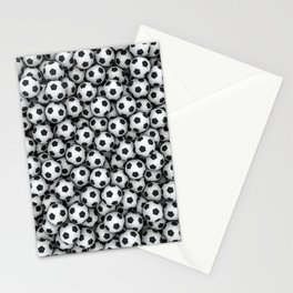 Soccer balls Stationery Cards