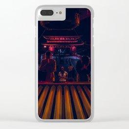 Prey Clear iPhone Case