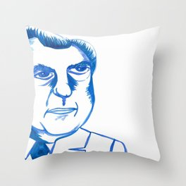 NOT A CROOK (LEFT) Throw Pillow