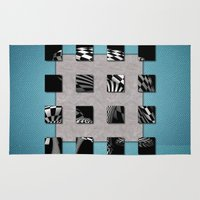 sports Area & Throw Rugs featuring SQUARE AMBIENCE - Sports by INA FineArt