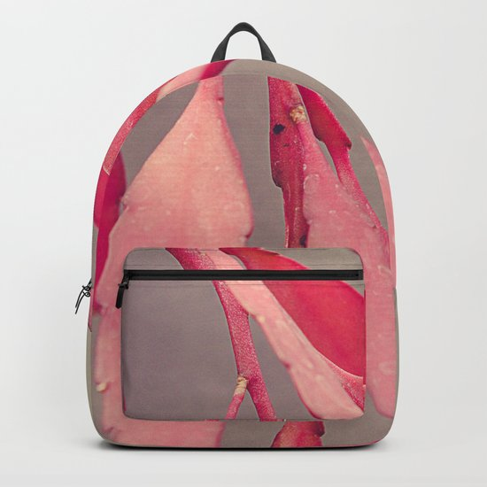 Red Cactus Backpack