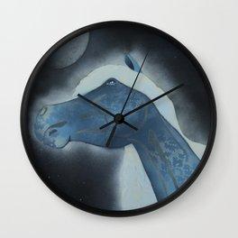 Nighthorse Wall Clock