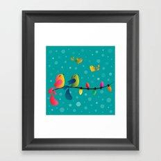 Fly High, My Babies - Merry Christmas Framed Art Print