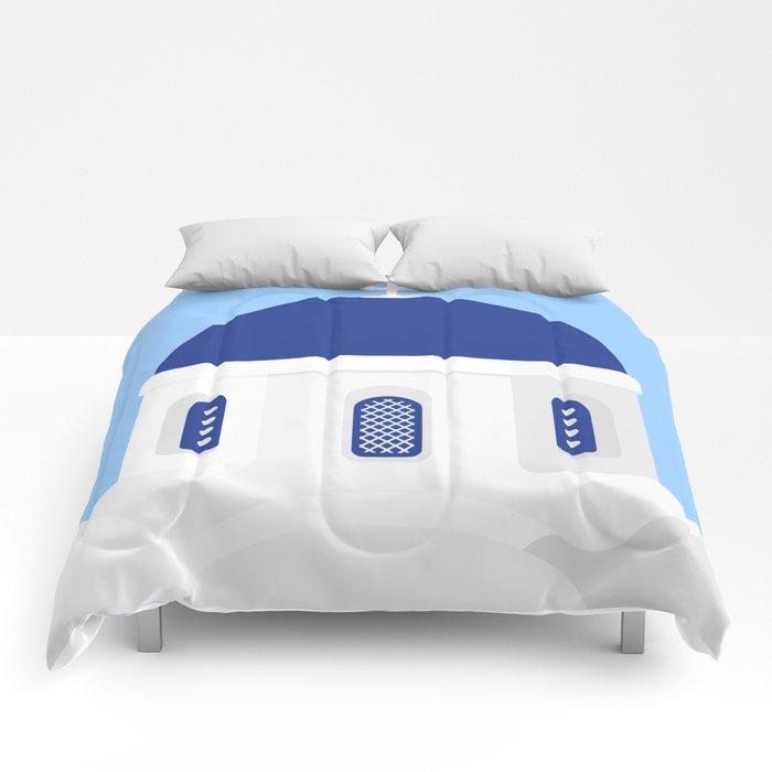 Santorini #02 Comforters