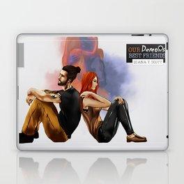 Our demons, best friends II Laptop & iPad Skin
