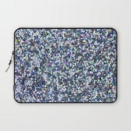 Blue Glitter Laptop Sleeve