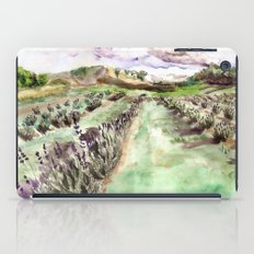 Purple up over the hills iPad Case