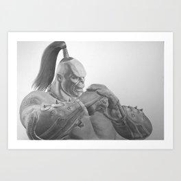 Shokan Warrior Art Print