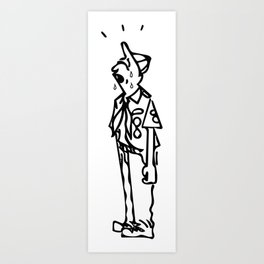 Crying Scout Art Print