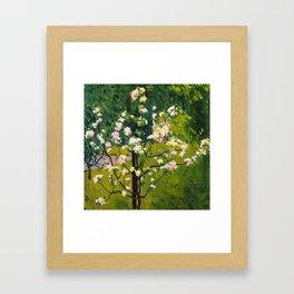 """Koloman (Kolo) Moser """"Flowering tree"""" Framed Art Print"""