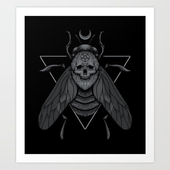 Pestilence Art Print