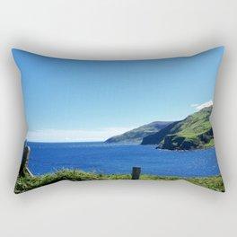 Antrim coast. Northern Ireland Rectangular Pillow