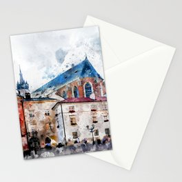 Cracow art 21 #cracow #krakow #city Stationery Cards
