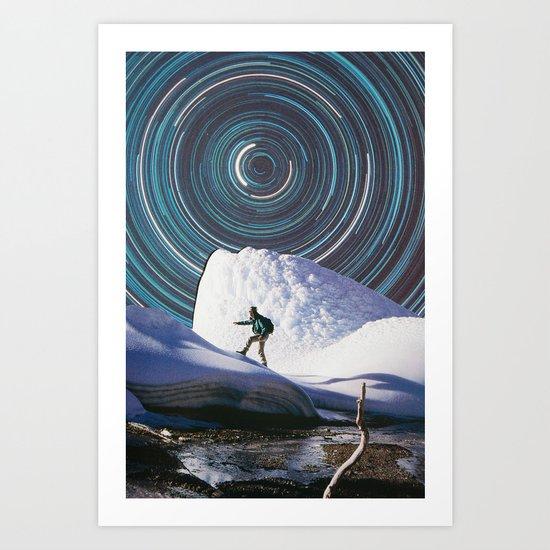 Safe Travels Art Print