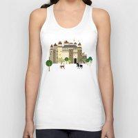 castle Tank Tops featuring castle  by Design4u Studio