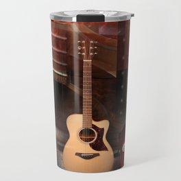 The acoustic guitar Travel Mug