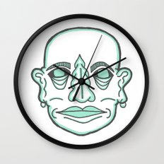 PUNK MONK Wall Clock