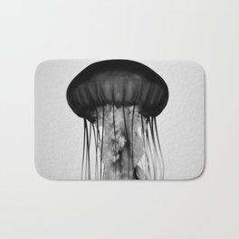 Jellyfish Black and White Bath Mat