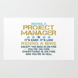 BEING A PROJECT MANAGER Rug
